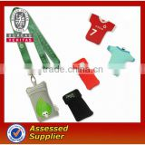 Popular Mobile Phone sock/cellphone socks with lanyard/Cotton knitting mobile phone sock