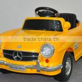 Hot selling license kids cars 12V ride on cars mercedes, toys&hobbies ride on car,zhehua toys car