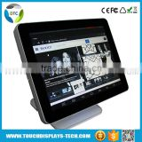 Stock 15 inch projected capacitive Desktop True Flat touch screen lcd display