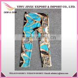 Wholesale Seamless Full Length Slimming Tights Compression Printed Stylish Women Leggings