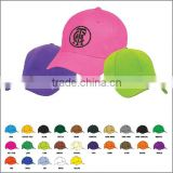 wholesale 6 panel cotton custom embroidered sports cap and hat                                                                         Quality Choice