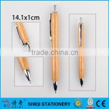 China school supplies wholesale special shape bamboo pen                                                                                                         Supplier's Choice