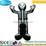 DJ-XT-63 Skeleton Inflatable partner Halloween Haunted Blow-up Skull Doll Toy