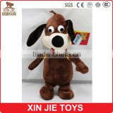 cute big eyes plush dog toy customize good quality stuffed dog toy wholesale puppy soft toy