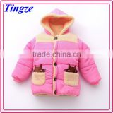 2015 new fashion design hot sale high quanlity and best price bulk wholesale winter baby kids clothes coat