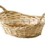 oval tray with ear-split willow-nature colour