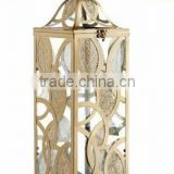 Christmas Small Cheap Wrought Iron Hanging metal lantern                                                                         Quality Choice