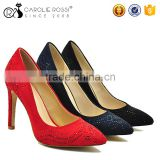 Diamond rubber sole wedding shoes women gold heel hip hop dance shoes