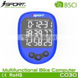 exercise bike sport computer bicycle with heart rate, barameter, altimeter, company Large LCD dispaly waterproof