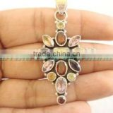 925 Silver Necklace With Semiprecious Stones Diamond Tennis Bracelet Pendant Necklace Ruby Engagement Ring