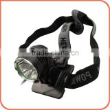 Riding equipment 3 Beads 2200lm rechargeable USB LED bicycle headlight front light with XML U2