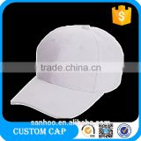 6 Panel Outdoor Blank Plain Wholesale Top Quality Embroidery Advertising Baseball Cap Hat