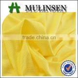 Shaoxing Mulinsen textile high quality knitted bird eye polyester dyed fabric
