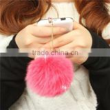 Rabbit hair Crystal Anti Dust For 3.5mm Earphone Jack Hole Of Mobile Phone Dustproof plug