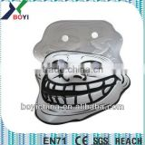 Black and White Custom Made Plastic Halloween Mask Cheap Party Mask