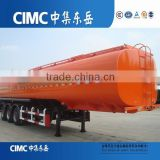 CIMC Heavy capacity fuel tank truck trailer with tool box