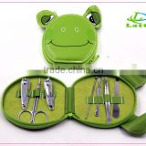 cute toe manicure set in pvc bag, pedicure tools set, pedicure kits                                                                         Quality Choice