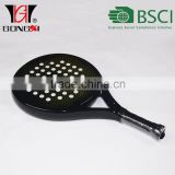Kevlar and graphite carbon beach paddle racket