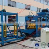 concrete vibrating rotational molding equipment table machine