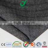 Italian tr plain weave best brushed checks design printed men's senior quality suiting fabric women dress pants textile fabrics
