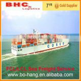 Shipping forwarder china consolidated sea shipping and logistics service from China to FOS