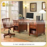 Antique Appearance Home and Office Furniture General Use Wooden Computer Table Writing Desk