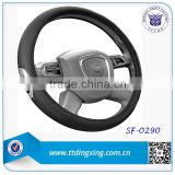 2014 custom 36size Blue car steering wheel cover for mini auto accessories