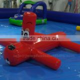 Inflatable floating dog children water games,Swimming pool inflatable water games