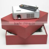 Wifi LED Home Theater Projector Mini Pocket Video Audio Pictures projector with POWER SOCKET TF CARD DTV