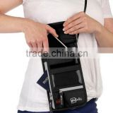 Neck Wallet / Stash & Passport Holder with RFID Blocking Security / Designed for Convenience, Comfort, & Durability