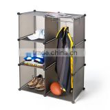 Classics Cube Closet Organizer with brown color(FH-AL0021)