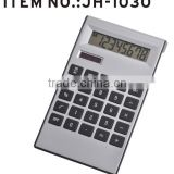 New design two way solar&battery power desktop electronic calculator