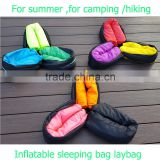 Summer hangout air sofa bed fast gojoy inflatable folding sleeping lazy bag