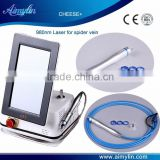 980nm diode laser vascular removal machie/spider vein removal device