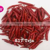 Teja S17 Dryed CHILES ROJOS MACHACADA