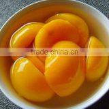 yellow peach slice yellow peach halves in tins in syrup