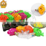 Colorful Plastic Fish Toy Candy With Small Shaking Bell