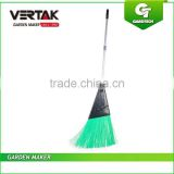 Largest hardware tools and household goods exporters of China plastic garden broom , garden broom , outdoor broom