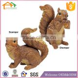 Factory Custom made best home decoration gift polyresin resin amusement park statue