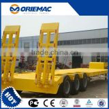 13m 40 ton low bed trailer China travel trailer frames