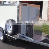 2015 hot-sale 50tons Refrigerated Semi Trailer Semi-Trailer for Sale insulation box/refrigerated trailer