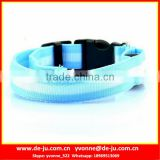 Light Blue Substantial Durable LED Pet Collar
