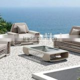 SIGMA outdoor white wicker furniture unique sofa design bamboo and rattan sofas