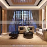 BISINI Chinese Style Living Room Design Plan in Villa