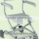 Rehabilitation Therapy Supplies TBB7962L aluminum flodable disable commode bath chair