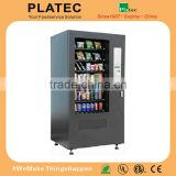 2015 snack and drink combo vending machine with CE used snack vending machine