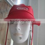 Uv protection sunbonnet , beach cap ,bucket hat with high quality nylon/spandex material
