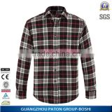 Factory price plain flannel shirts