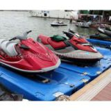 durable plastic jetski docking / plastic jet drives for boats
