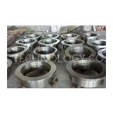 DIN Heavy Forged Steel Couplings / Free Forging Electrical Parts Couplings , High Strength